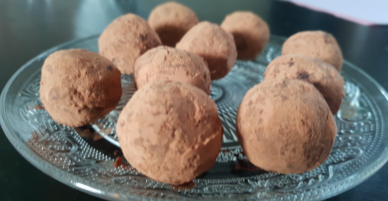 Chocolade truffel bliss balls