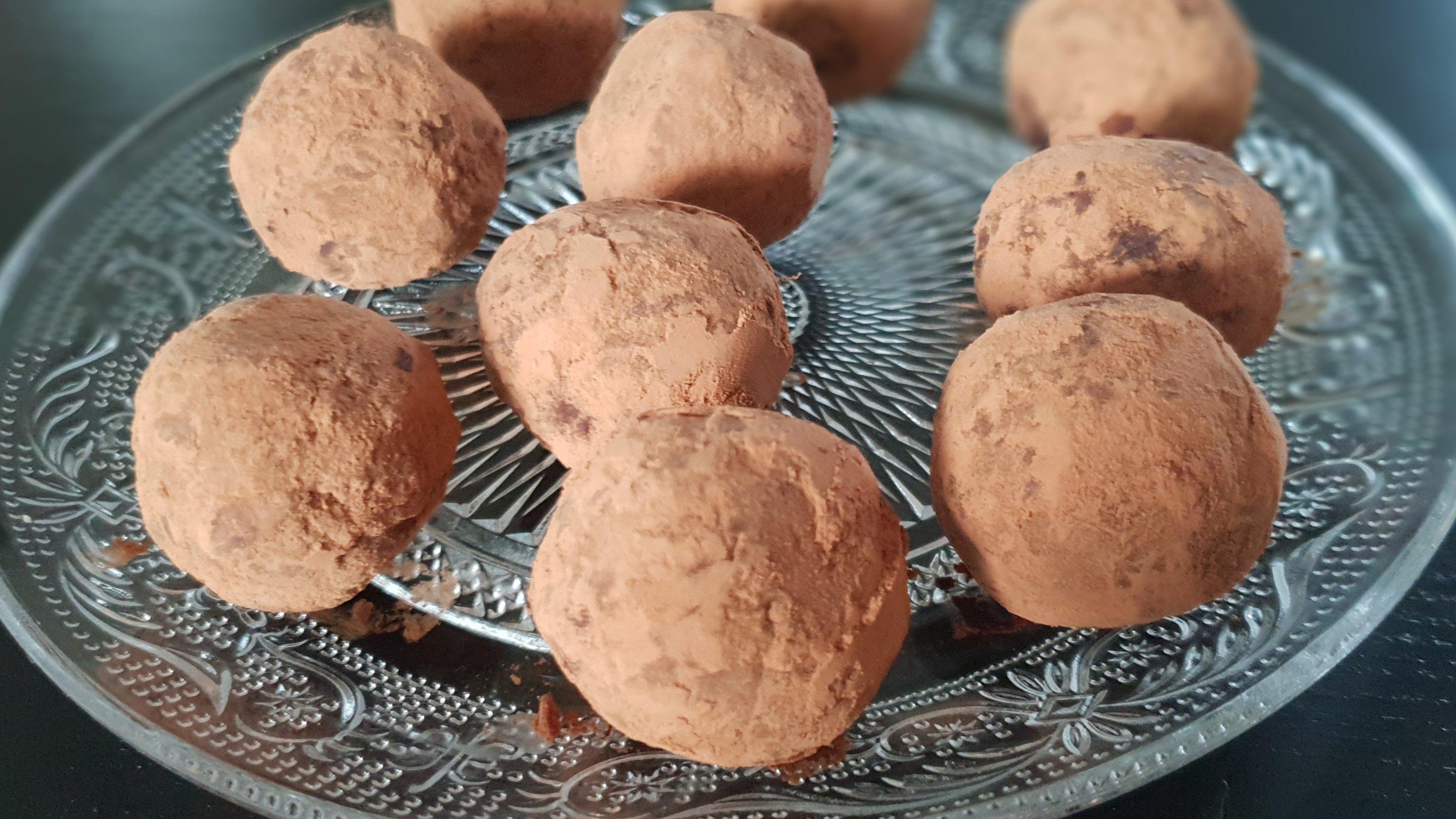 Chocolade Truffel Bites