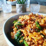 bloemkool linzen curry
