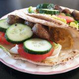 falafel wrap met aioli