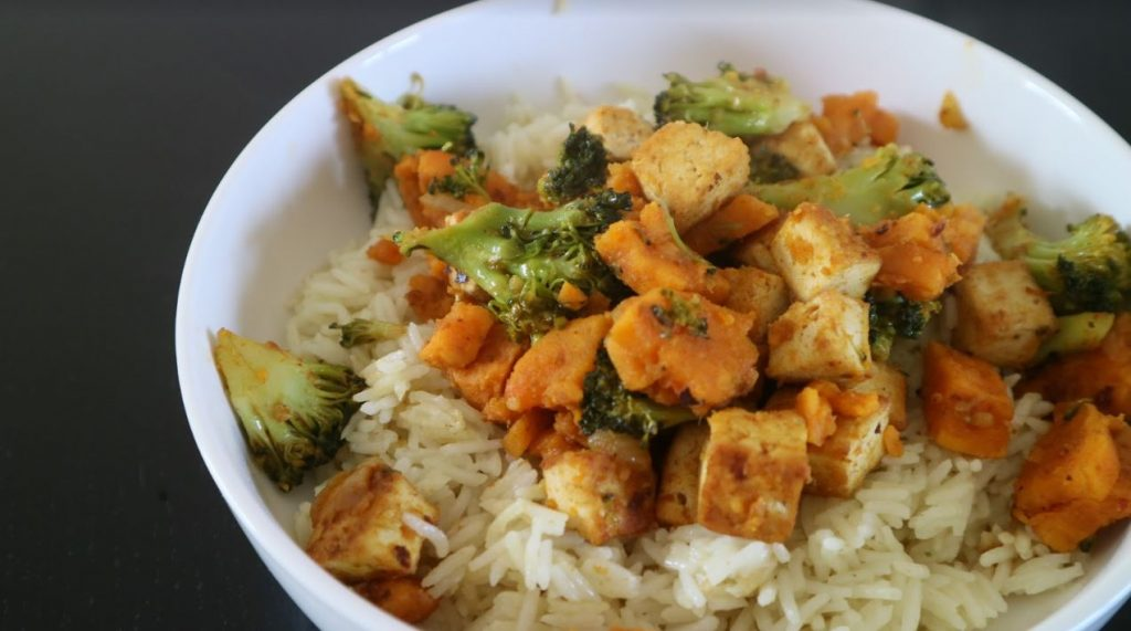 broccolicurry en tofu