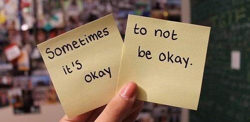 its oke not to be oke