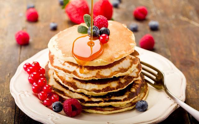 pancakes lekker eten honger