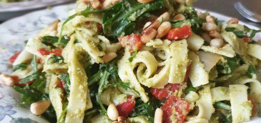 basilicum pasta pesto