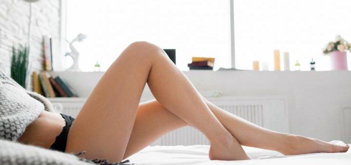 slanke benen
